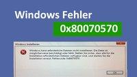 Lösung: Windows-Fehler 0x80070570 bei USB-Stick oder Kopiervorgang