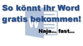 Word gratis? Wo gibt es die kostenlose Textverarbeitung?
