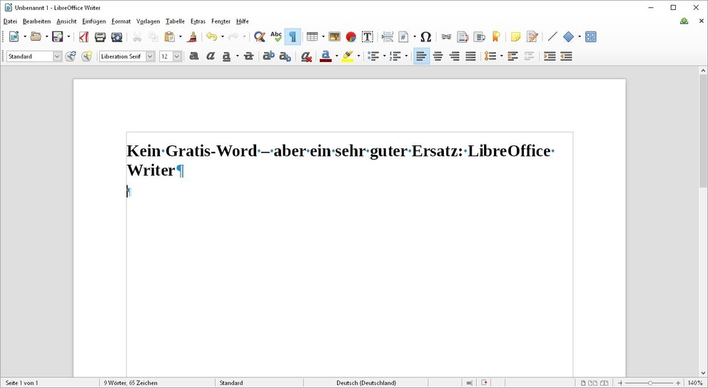 word-gratis-writer