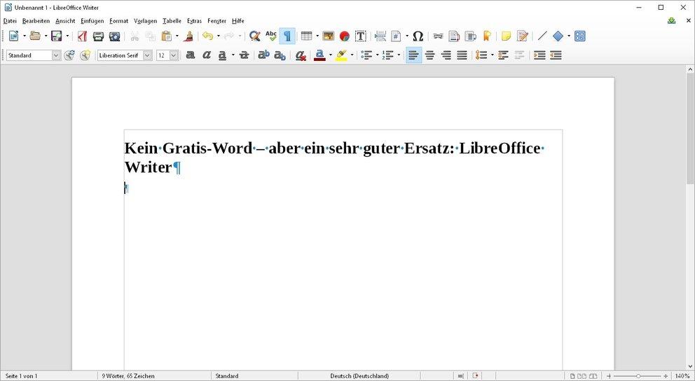 word-gratis-writer