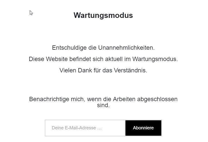 wordpress-wartungsmodus-aktiv