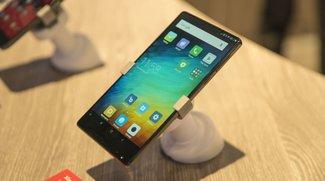 Xiaomi Mi Mix im Hands-On-Video: Das randlose Smartphone