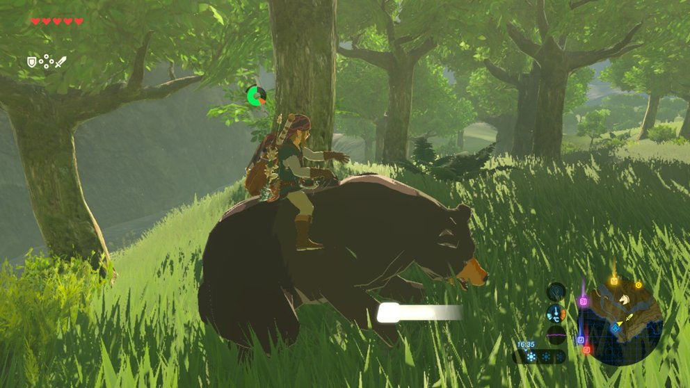 zelda-breath-of-the-wild-bären-hirsche-reiten