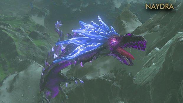 Zelda - Breath of the Wild: Drachen Eldra, Naydra und Farodra - Fundorte auf der Karte