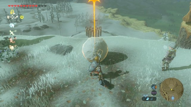 zelda-breath-of-the-wild-minispiele-schneeball-kegeln