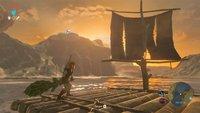 Zelda – Breath of the Wild: So kreativ verbessert ein Spieler sein Floß