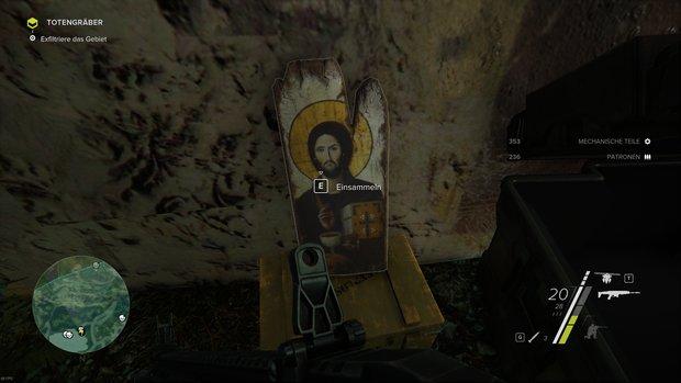 Sniper - Ghost Warrior 3: Sammelobjekte - Artefakte und Trophäen-Scharfschützengewehre