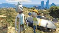 GTA 5: Rick & Morty erobern Los Santos