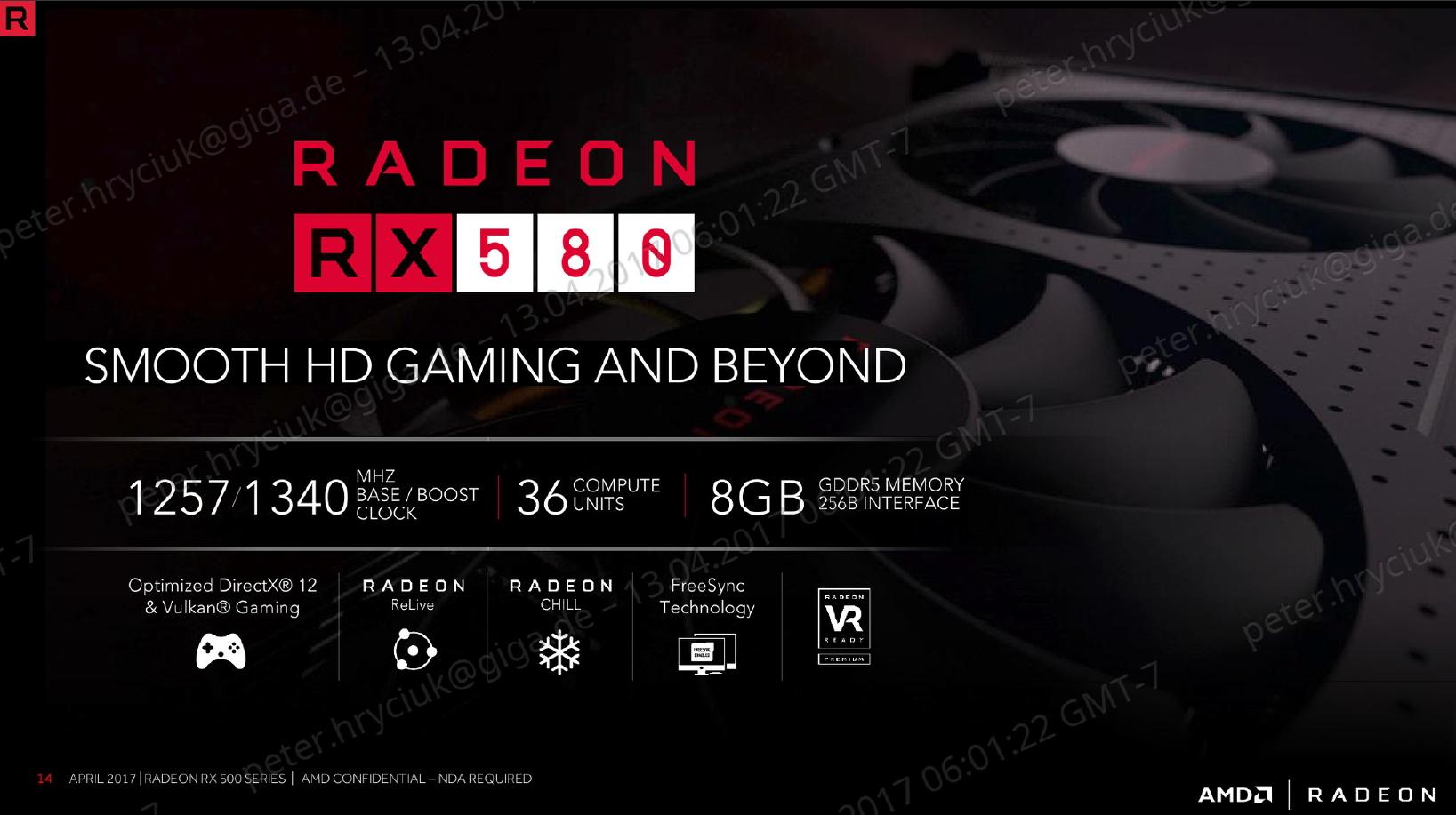 AMD Radeon RX 580 Polaris: Release, technische Daten, Ausstattung ...
