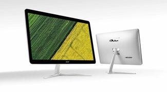 Acer Aspire U27 und Z24 vorgestellt: Schlanke All-in-One-PCs mit Flüssigkühlung