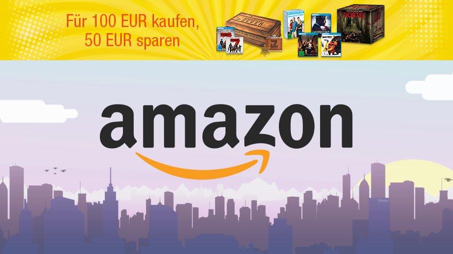 Amazon-Aktion: Für 100 € kaufen, 50 € sparen
