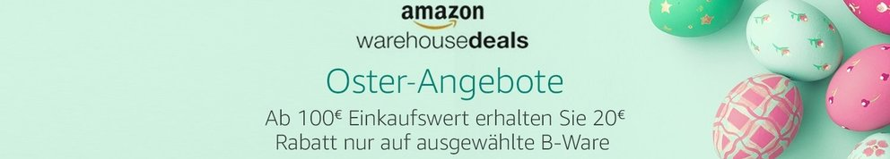 Amazon-Oster-angebote-warehouse-deals