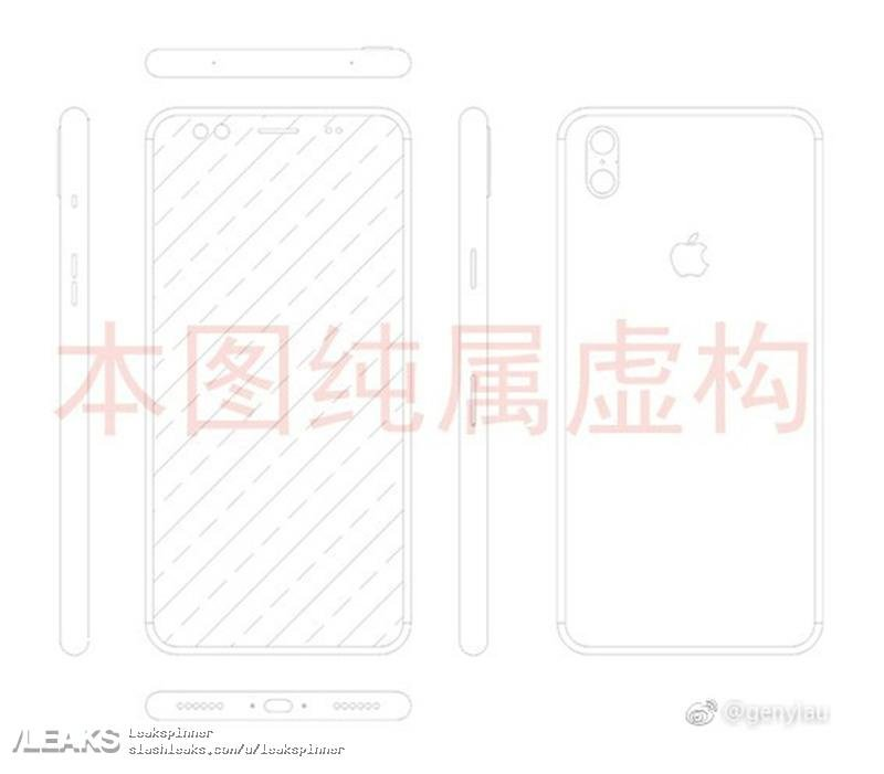 Apple-iPhone-8-Leak-Skizze-Design