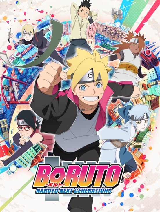 Boruto Anime Stream