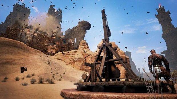 Conan Exiles: Trebuchet bekommen - So baut ihr die Belagerungswaffe
