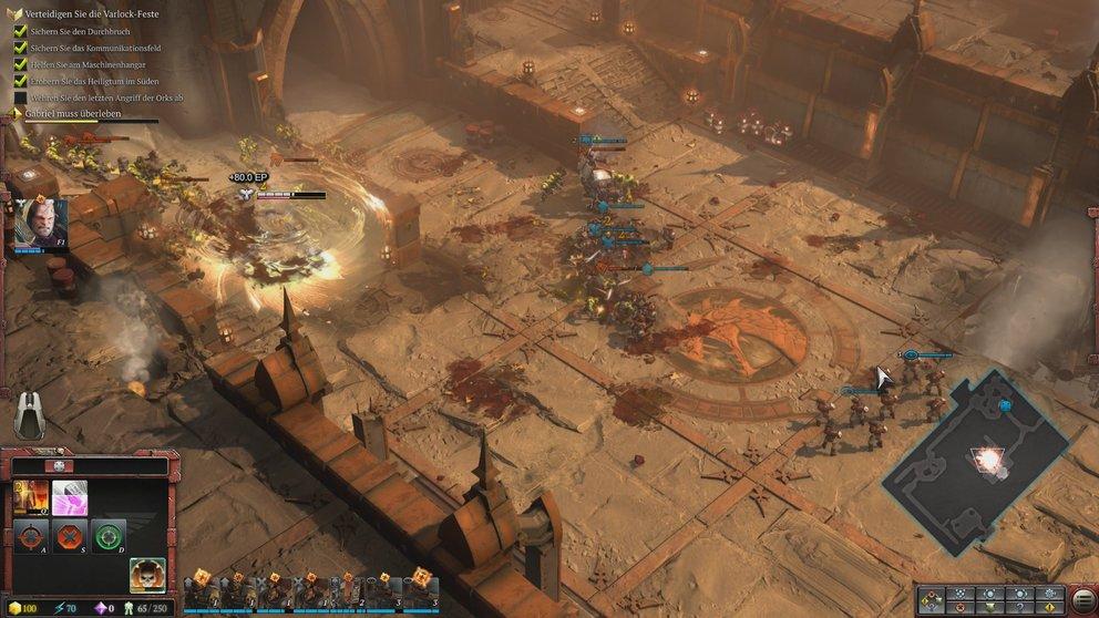 Die Kampagne von Dawn of War 3 bietet viele Missionsarten, in denen Du dich taktisch ausprobieren kannst.