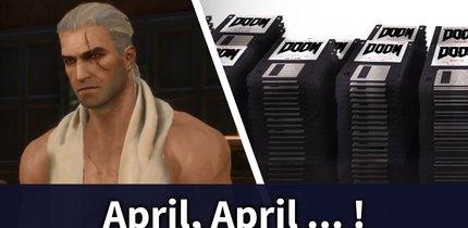 Die besten April-Scherze mit Games-Bezug 2017