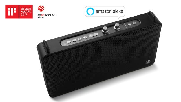 Gewinne einen von fünf preisgekrönten GGMM E5 Multiroom-Lautsprechern mit Amazon Alexa