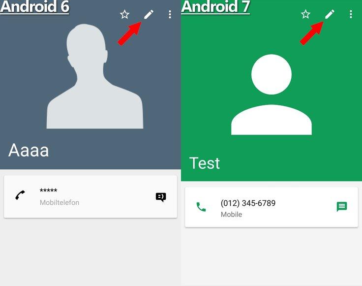 Kontaktbilder Editieren Android 6 7