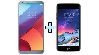 LG G6 kaufen und LG K8 (2017) gratis dazu bekommen – nur bis 30.04.