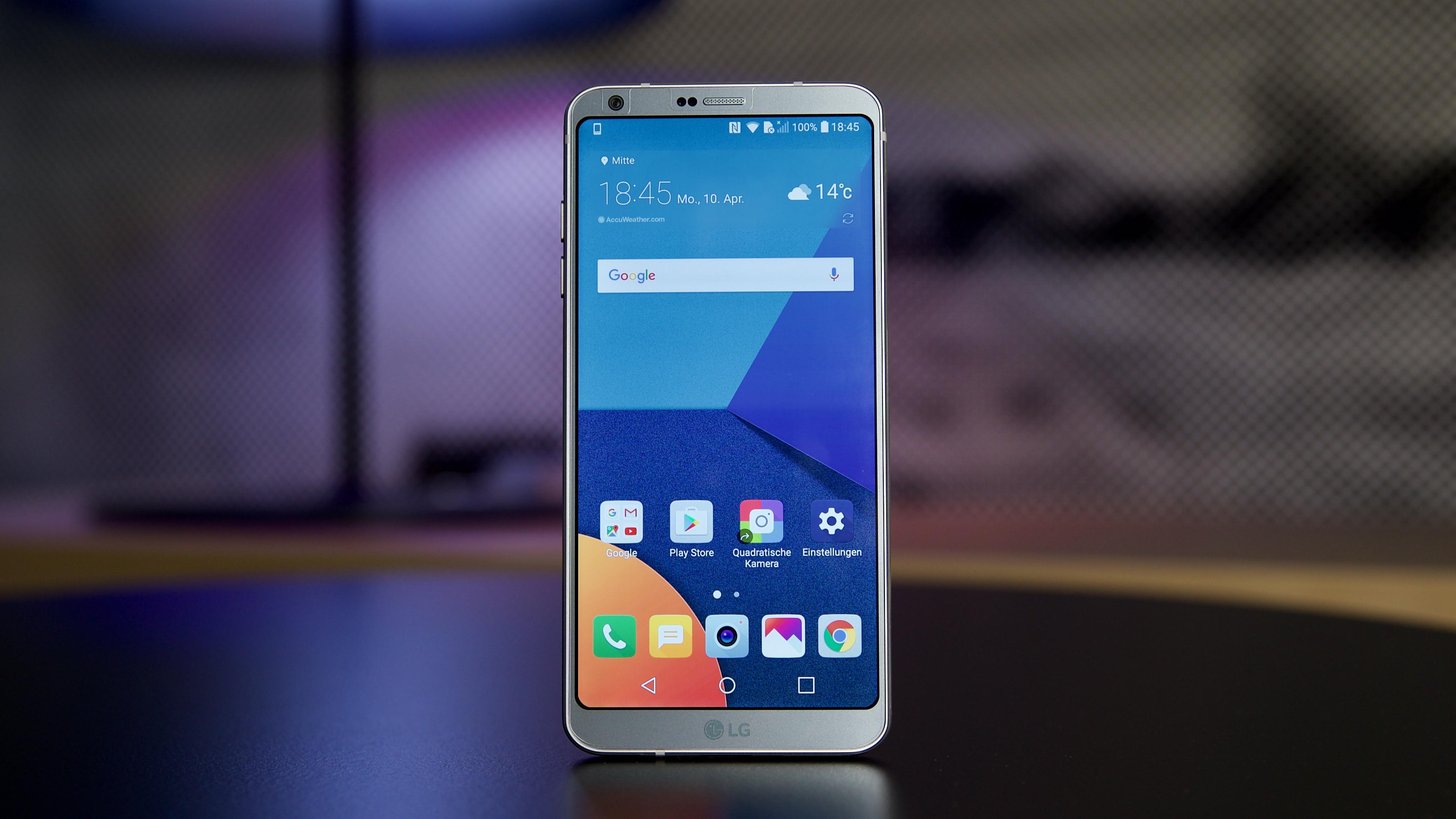 Lg g4 smartphone lg deutschland - Bilderstrecke Starten 9 Bilder Lg G6 Die Elegante Neuerscheinung