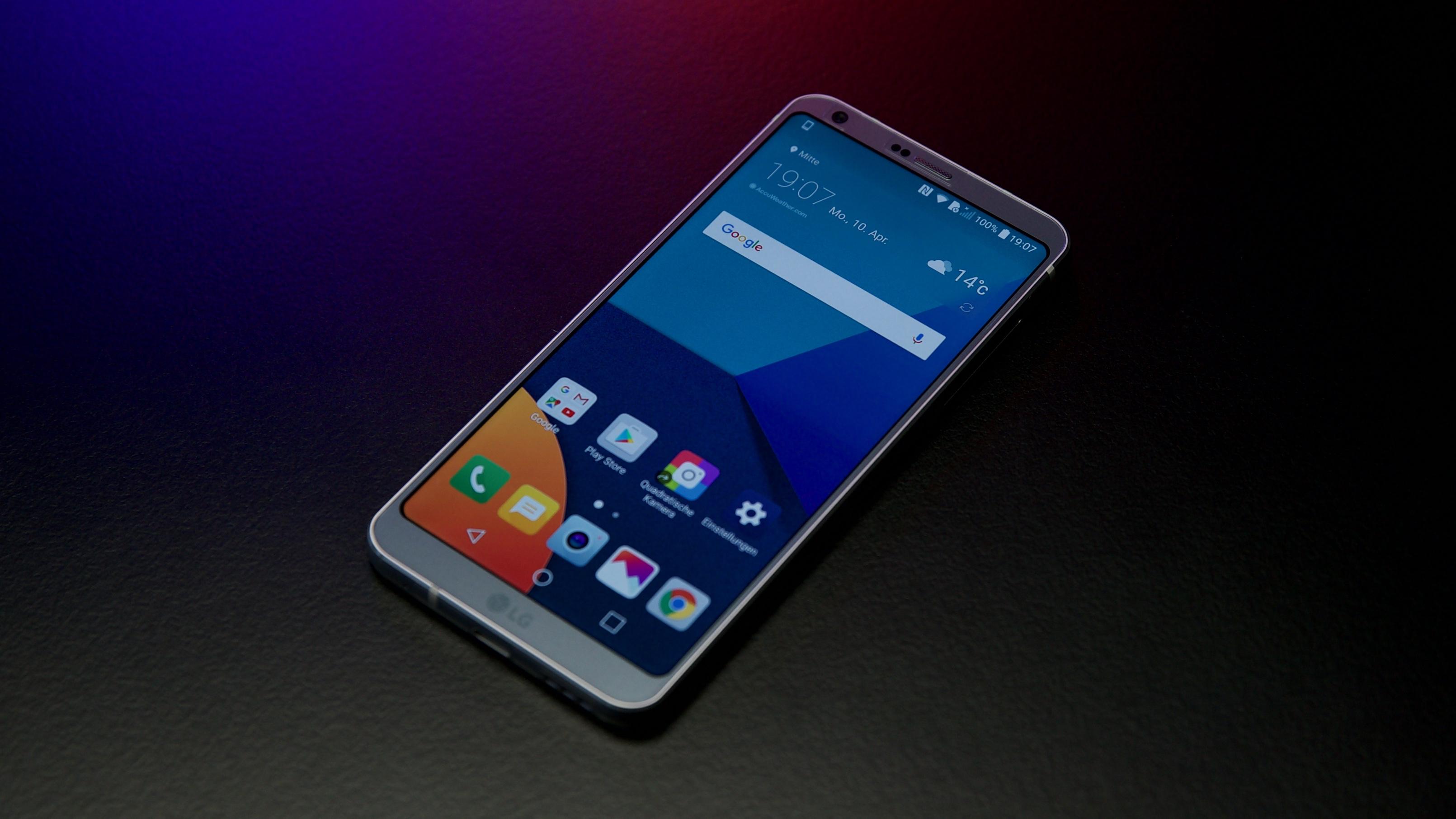 Das FullVision Display des LG G6 unterstützt Dolby Vision und HDR10 um eine noch bessere Darstellung von Inhalten zu ermöglichen