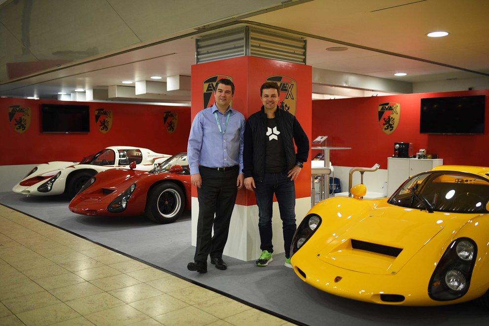 Markus Kreisel und Ralf Diefenthal, Evex (Quelle: Kreisel Electric GmbH - Peter Scherb)