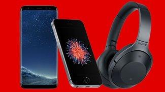 Media Markt Prospekt-Check: iPhone SE, Sony MDR-1000X Kopfhörer, Smartphones & Powerbanks stark reduziert