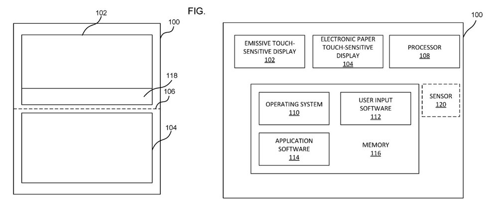 "Microsoft-Patent zeigt ""Dual Display Device"""