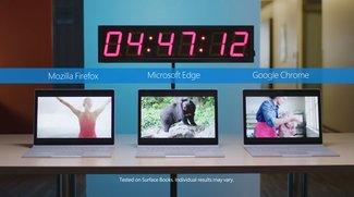 Browser-Krieg: Microsoft Edge schlägt Chrome und Firefox deutlich im Akku-Test
