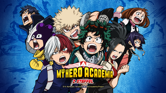 my hero academia season 2 stream