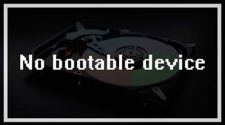 """""""No bootable device"""" – Was tun, wenn Windows nicht mehr hochfährt?"""
