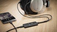 Keine Kopfhörerbuchse – kein Problem: Beyerdynamic stellt kompakten Digital-Analog-Converter vor