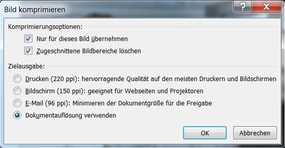 PowerPoint Bild komprimieren_Screenshot2
