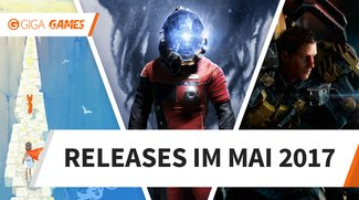Release-Liste für Mai 2017: Diese Spiele erwarten Dich