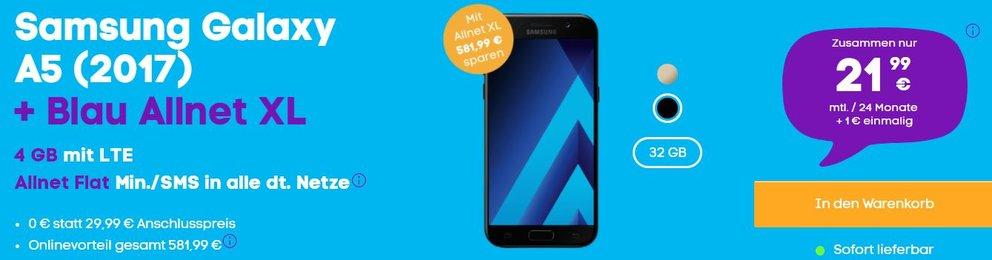 Samsung-Galaxy-A5-Blau