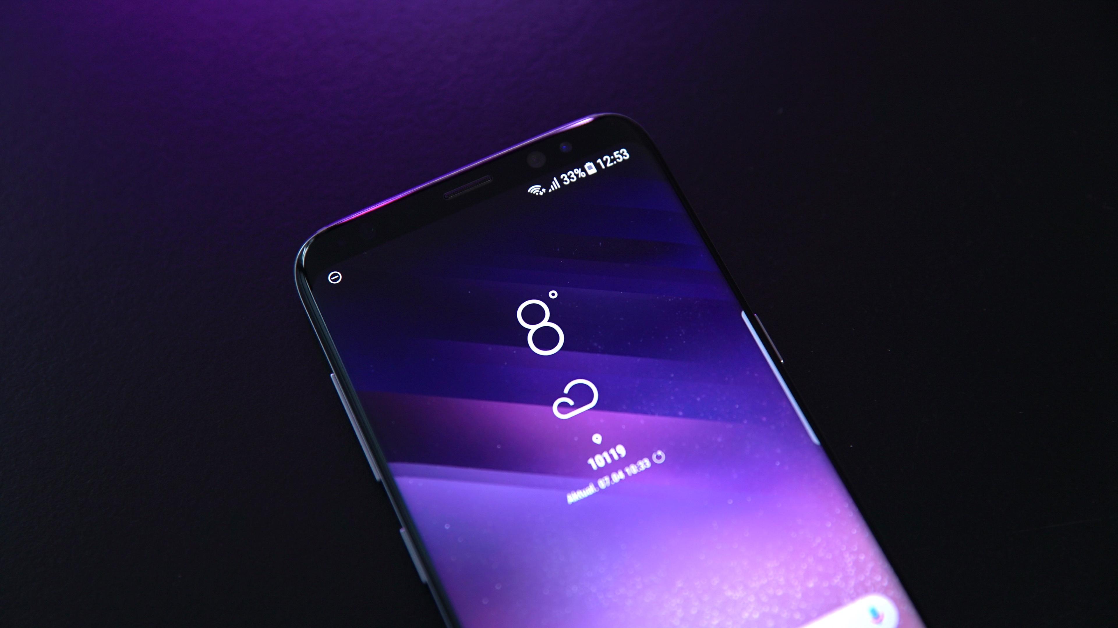 Samsung Galaxy S8 Test 9443