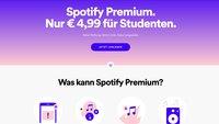 Spotify Premium: Studentenrabatt ab sofort auch in Österreich und der Schweiz