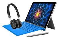 Surface Pro 4 Core M mit Type Cover, Surface Stift und B&W P3 Series 2 Kopfhörer für 849 €