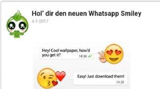 """WhatsApp """"Getemojii"""" Bewegliche Emojis - Vorsicht Falle!"""