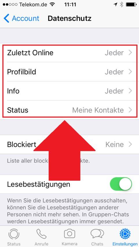 Whatsapp Kontakt Gelöscht