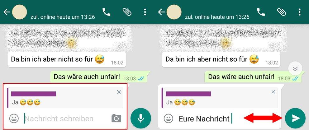 WhatsApp zitieren Anleitung 021