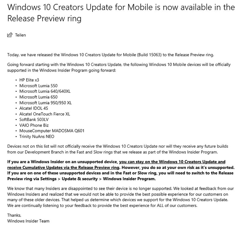 Windows-10-Mobile-Creators-Update-Rollout