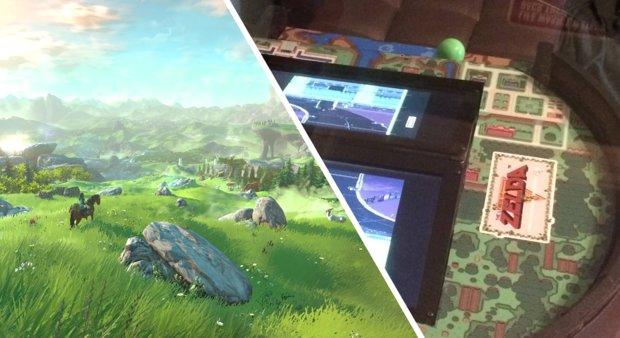The Legend of Zelda: Spieler baut sich eigenen Arcade-Tisch