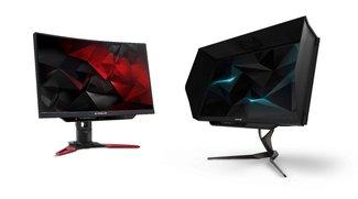 Acer zeigt Gaming-Monitore Predator X27 und Z271UV mit G-Sync und Quantum-Dot-Display