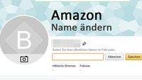 Amazon: Name ändern – so geht's