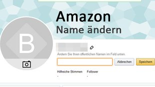 Amazon: Name ändern – so geht's