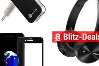 Blitzangebote:<b> BT-Empfänger, SATA-Dock, iPhone-Schutzglas und mehr heut reduziert</b></b>