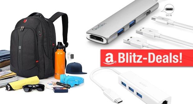 Blitzangebote:<b> USB-C-Adapter, Rucksack, Qi-Ladegerät u.v.m. günstiger</b></b>