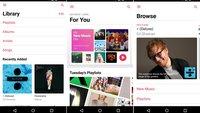 Apple Music: Android-App mit neuer Oberfläche und Funktionen